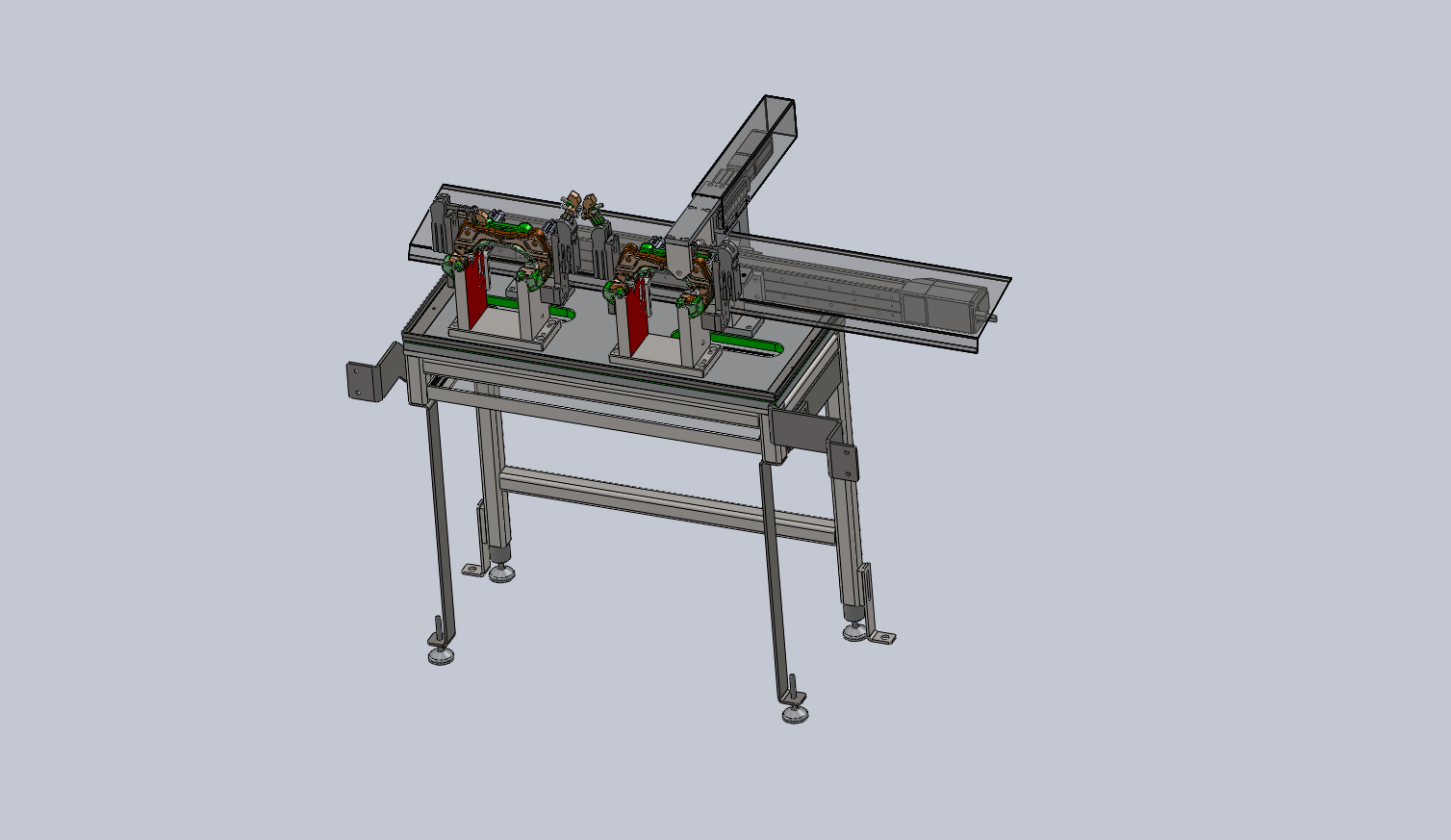 Máquina Automática para Controlo dimensional por toque