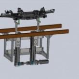 Elevador de peças para 60Kg – Linha de Produção